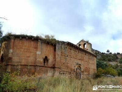 Hoces Río Riaza - Villa Ayllón; caminatas sierra madrid rutas senderismo madrid señalizadas
